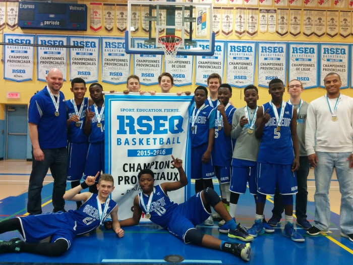 Champion Provincial benjamin D2 2015-2016