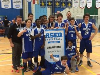 Champions régionaux benjamin AA 2014-2015 - copie