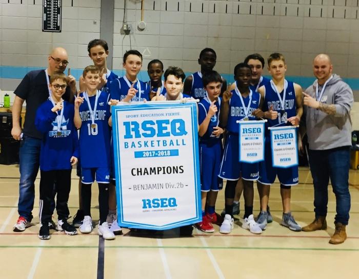 Champion régional Benjamin BB 2017-2018 (1)