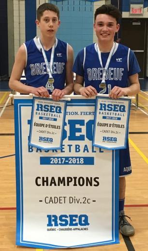 Équipe étoiles cadet D2CC Xavier et César (1)