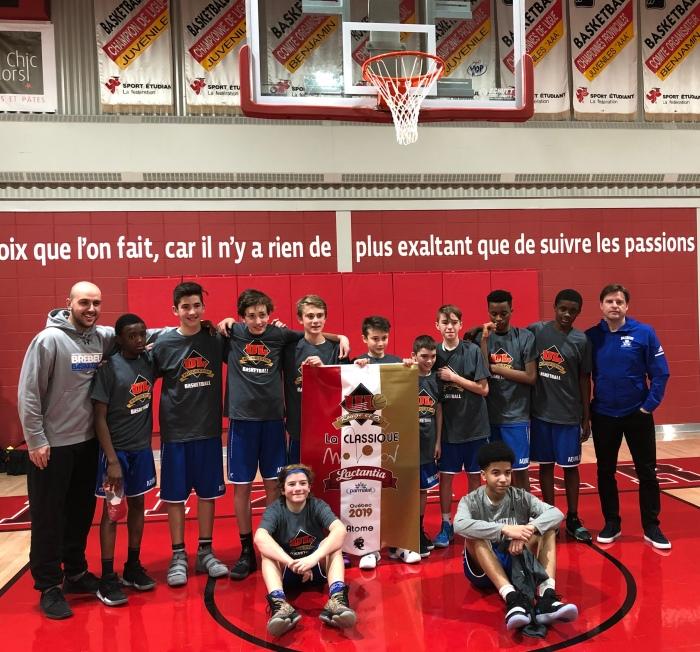 Champions Classique Université Laval atome D2 janvier 2019